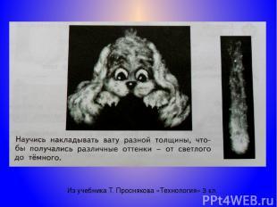 Из учебника Т. Проснякова «Технология» 3 кл.