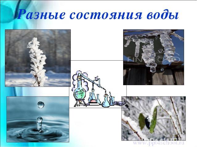 Разные состояния воды www.ppt4school.ru