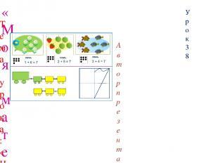«Моя математика» 1 класс Урок 38 Тема урока: «Число семь. Цифра 7» Советы учител