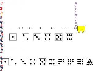 2. Сколько точек надо нарисовать Пете на последней карточке? МАТЕМАТИКА ? Скольк
