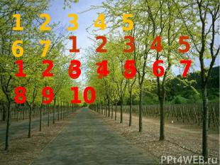 1 2 3 4 5 6 7 1 2 3 4 5 6 7 8 1 2 3 4 5 6 7 8 9 10