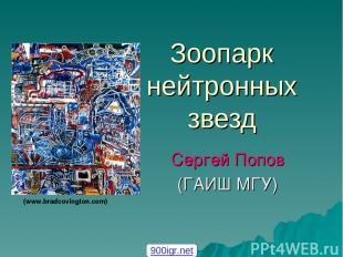 Зоопарк нейтронных звезд Сергей Попов (ГАИШ МГУ) (www.bradcovington.com) 900igr.