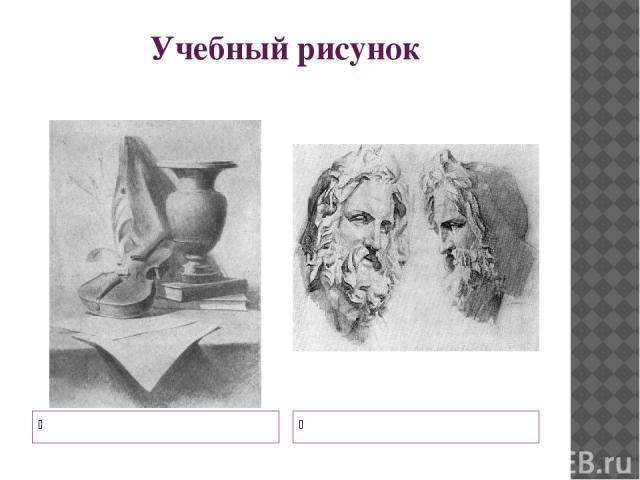Учебный рисунок Натюрморт Рисунок головы