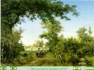 Вид в окрестностях Петербурга, 1865 год закончить