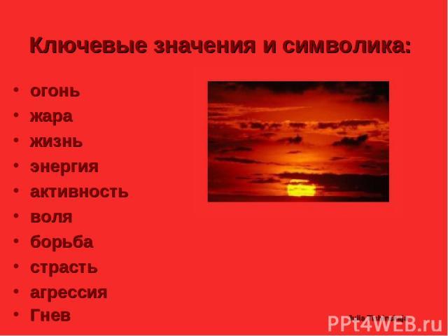Julia Tishinskaja Ключевые значения и символика: огонь жара жизнь энергия активность воля борьба страсть агрессия Гнев Julia Tishinskaja
