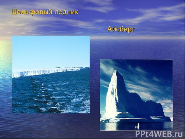 Шельфовый ледник Айсберг