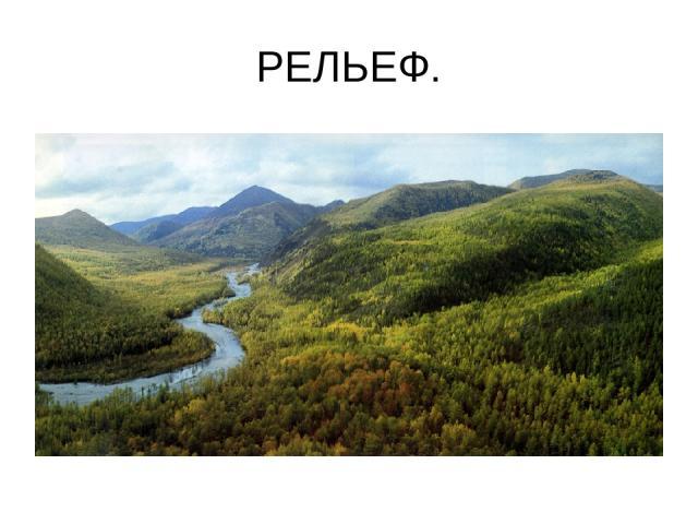 РЕЛЬЕФ.