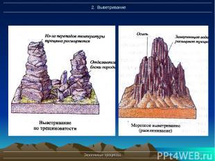 Экзогенные процессы * Экзогенные процессы