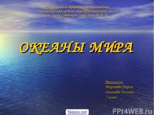 Муниципальное образовательное учреждение Чернышихинская средняя общеобразователь