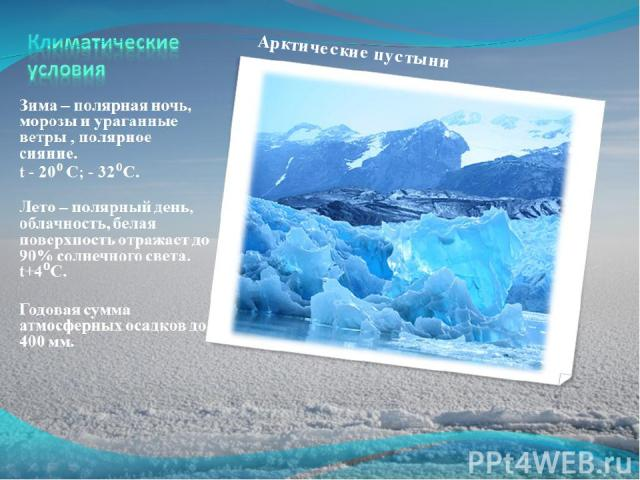 Арктические пустыни