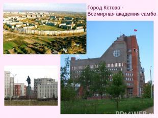 Город Кстово - Всемирная академия самбо