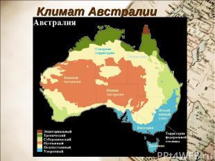 Климат Австралии