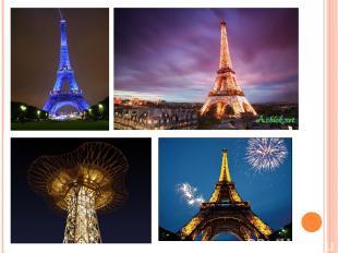 Ночью символ Парижа выглядит просто великолепно…