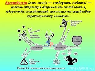 Креативность [лат. creatio — сотворение, создание] — уровень творческой одаренно