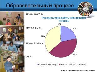 www.debcomsk.ru Образовательный процесс МОУ ДОД «Детский Эколого-биологический Ц