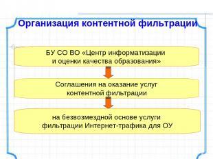 БУ СО ВО «Центр информатизации и оценки качества образования» Соглашения на оказ