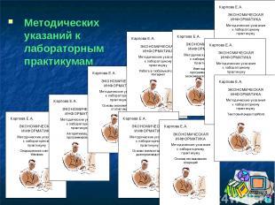 Методических указаний к лабораторным практикумам