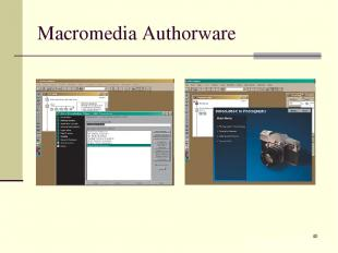 * Macromedia Authorware