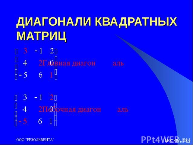 МОСКВА, 2009 ООО