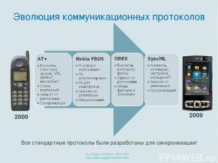 2009 (C) Oxygen Software, 2000-2009 http://www.oxygen-forensic.com 2000 Эволюция