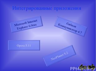 Интегрированные приложения Microsoft Internet Explorer 6.0rus Сибкон Коммуникато