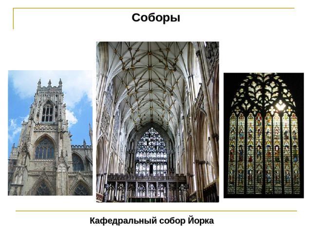 Соборы Кафедральный собор Йорка