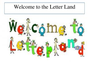 Welcome to the Letter Land