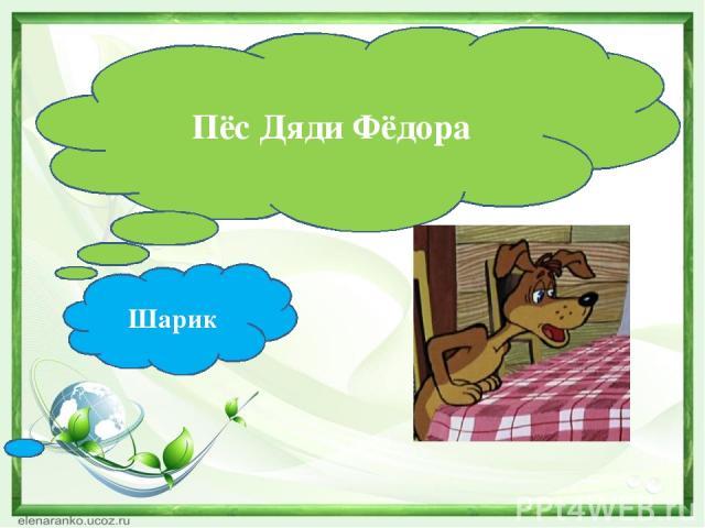 Пёс Дяди Фёдора Шарик