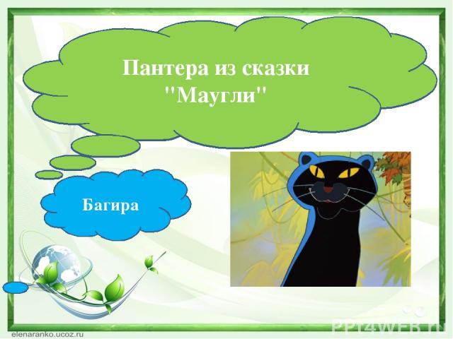 Багира Пантера из сказки