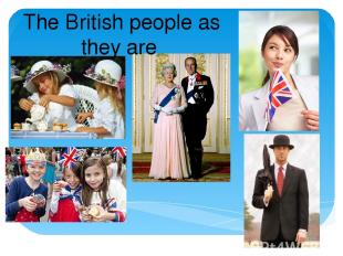 The British people as they are