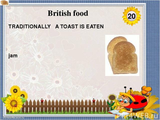 at Xmas WHEN DO THE BRITISH EAT ROAST TURKEY , ROASTED POTATOES, YORKSHIRE PUDDING ? 40 British food