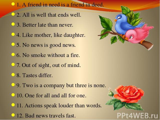 essay on a friend in need is a friend in deed