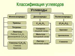 Триозы Тетрозы Пентозы Рибоза С5Н10О5 Дезоксирибоза С5Н10О4 Гексозы С6Н12О6 Глюк