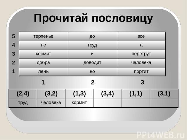 Домашнее задание: с.26, № 59 (б) Д.З. с.25, № 56 (б) Узнать правила игры в шахматы или шашки *