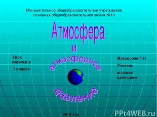 * Муниципальное общеобразовательное учреждение основная общеобразовательная школ