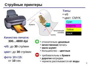 * Качество печати: 300…4800 dpi ч/б: до 30 стр/мин цвет: до 30 стр/мин фото 10 1