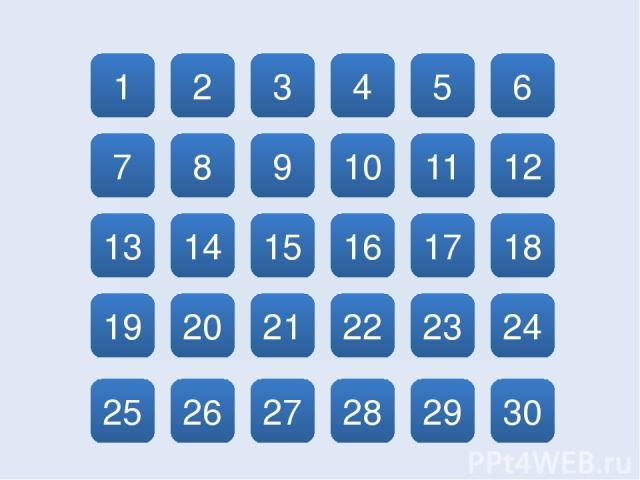 1 2 14 20 26 13 7 8 25 19 3 15 9 27 21 10 4 28 22 16 17 11 5 29 23 18 12 6 30 24