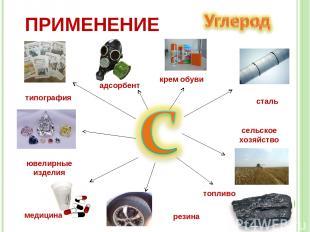 сталь сельское хозяйство топливо медицина типография ювелирные изделия адсорбент