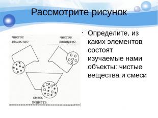 Рассмотрите рисунок Определите, из каких элементов состоят изучаемые нами объект