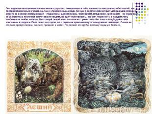 Лес издревле воспринимался как живое существо, вмещающее в себе множество загадо