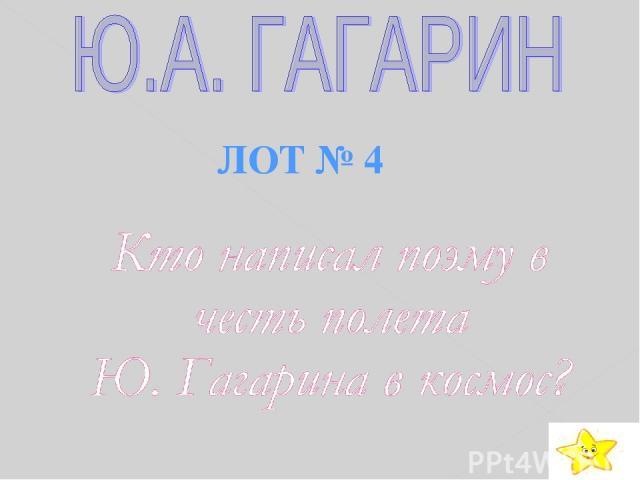 ЛОТ № 4