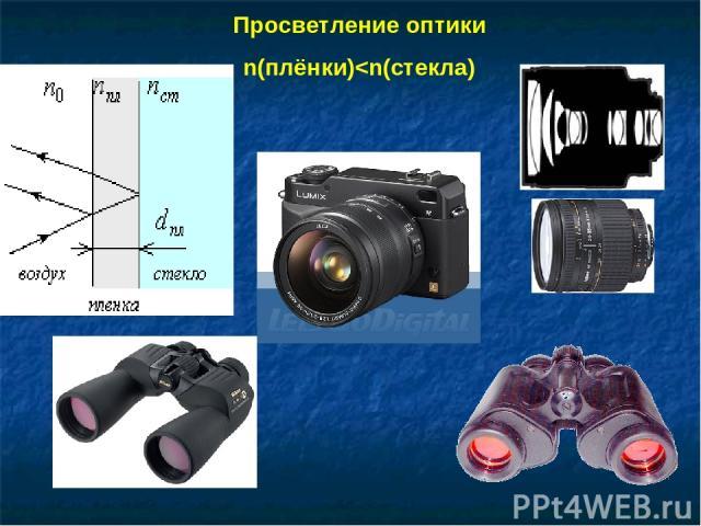 Просветление оптики n(плёнки)