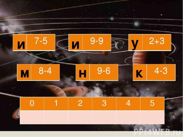 и м у н и к 7-5 8-4 9-6 4-3 9-9 2+3 0 1 2 3 4 5