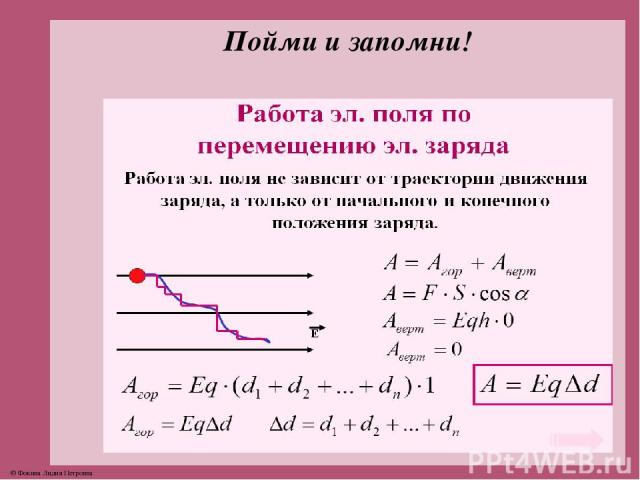 Пойми и запомни! © Фокина Лидия Петровна