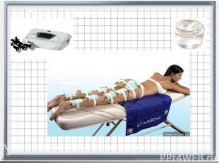 Массаж ультразвуком от целлюлита Аппарат для мио стимуляции (вывода излишка жидк