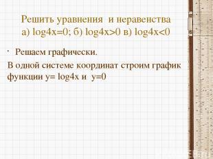 Преобразование графиков функции x y 1 2 3 4 5 6 7 8 9 10 1 y=log2x+2 D(y):(0;+∞)