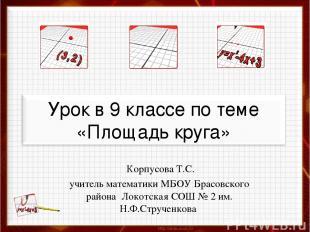 Корпусова Т.С. учитель математики МБОУ Брасовского района Локотская СОШ № 2 им.