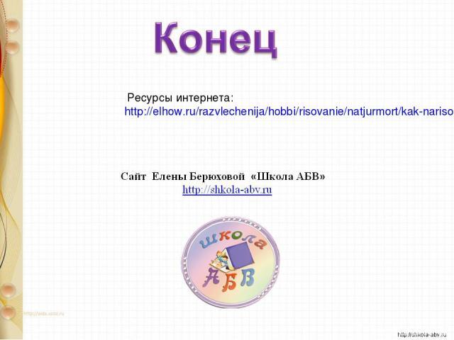 Ресурсы интернета: http://elhow.ru/razvlechenija/hobbi/risovanie/natjurmort/kak-narisovat-izbu