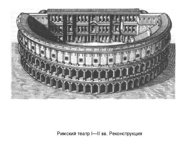 Римский театр I—II вв. Реконструкция