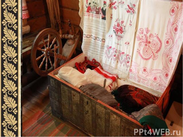 Мебель в избе